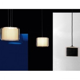Mercer pendant lamp Marset natural color / white color / black color side view