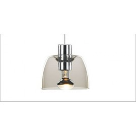 Serena ceiling lamp Modiss transparent color front view