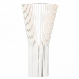 Secto 4231 wall lamp Secto Design white color side view