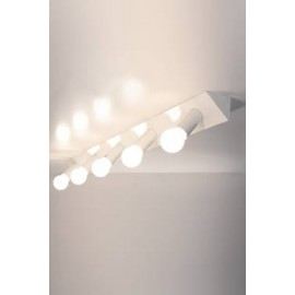 2160 AT5 5 spots ceiling or wall lamp Luz Difusion white color