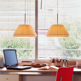 bover mei 38 pendant lamp Foscarini cream color side view