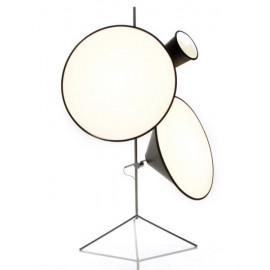 Cone tripod stand floor lamp Tom Dixon Model A front view