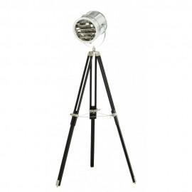 Dupond et Dupont Cinema floor lamp Muno foot in black front view