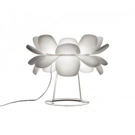 Infiore table Lamp Estiluz white color front view