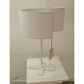 Joiin table lamp Pallucco white color side view