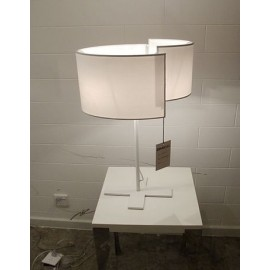Joiin table lamp Pallucco white color top view