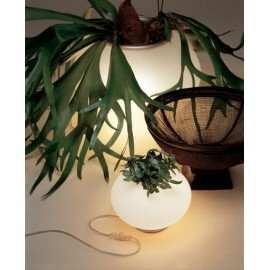 Biosfera table lamp Alt Lucialternative white color S front view