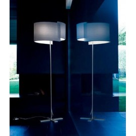 Joiin floor lamp Pallucco white color H177cm front view