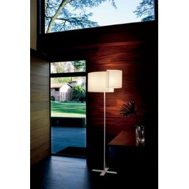 Joiin floor lamp Pallucco white color side view