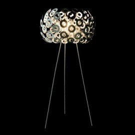 Dandelion floor lamp Moooi silver color front view
