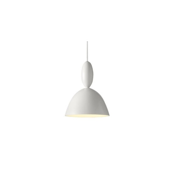 MHY pendant lamp Muuto white color front view