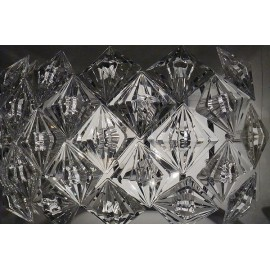 Diamond wall lamp transparent color with detail