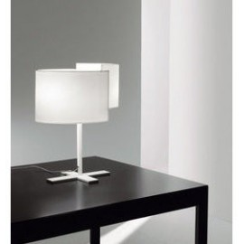 Joiin table lamp Pallucco white color front view