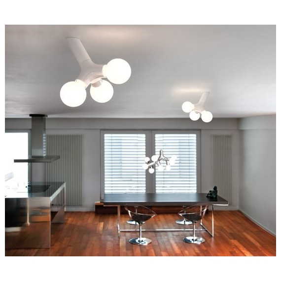 DNA ceiling lamp Next white color front view
