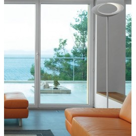 Cabildo floor lamp Artemide white color side view
