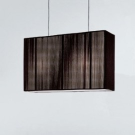 Clavius pendant lamp Axo coffee color front view