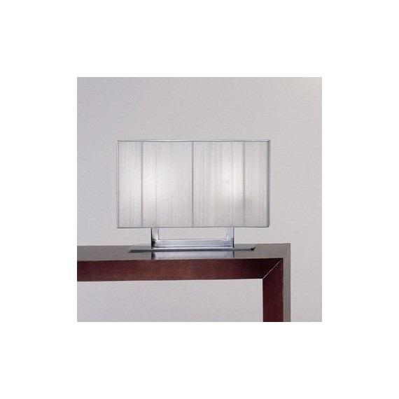 Clavius table lamp Axo white color front view