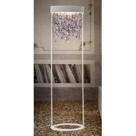 OLA floor lamp Masiero white color side view