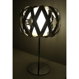 ROLANDA table lamp Bover black color side view