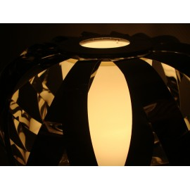 ROLANDA table lamp Bover black color with detail