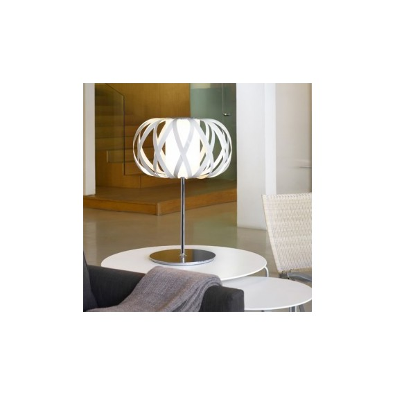 ROLANDA table lamp Bover white color front view