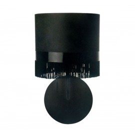 Fringe wall lamp Moooi black color front view
