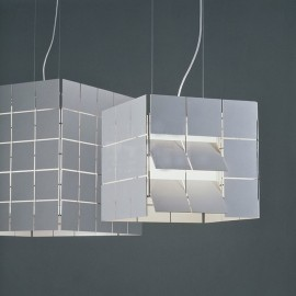 Cubrik pendant lamp Santa & Cole white color S / L