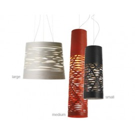 Tress pendant lamp long cylinder model Foscarini white color / red color / black color S / M / L
