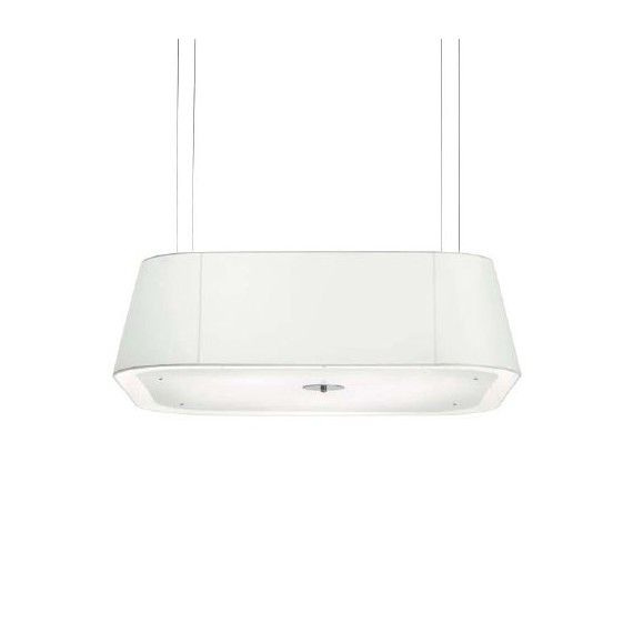 Opera pendant lamp Modoluce white color front view