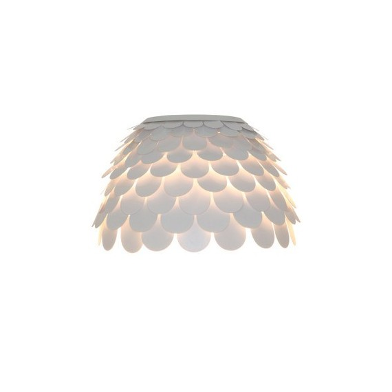 Carmen wall lamp FontanaArte white color front view