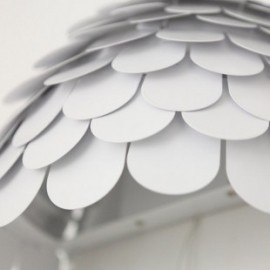Carmen wall lamp FontanaArte white color with detail