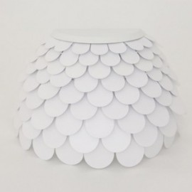Carmen wall lamp FontanaArte white color top view