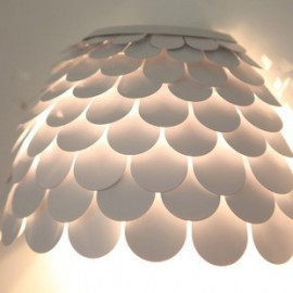 Carmen wall lamp FontanaArte white color side view