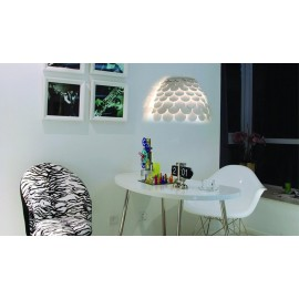Carmen wall lamp FontanaArte white color in dining room