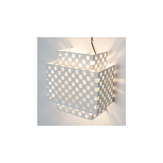 Antilia wall Lamp Calligaris white color front view