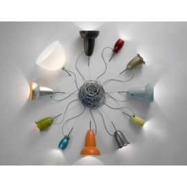 Blossom pendant lamp model Flower Belux top view