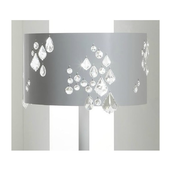 Miss Brilla floor lamp Karman white color with detail