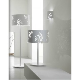 Miss Brilla floor lamp Karman white color side view