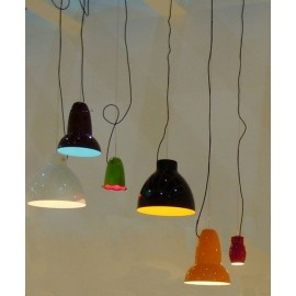 Blossom pendant lamp model Roccet Belux in dining room
