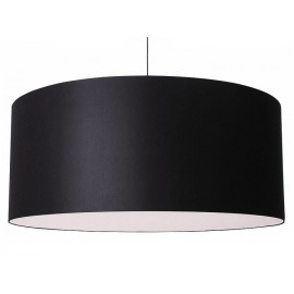 Cilindro Pendant lamp Modoluce black color front view