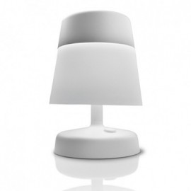 Everyday table lamp LEDS-C4 white color front view
