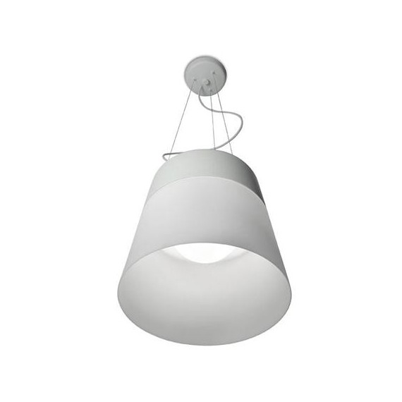 Everyday pendant lamp LEDS-C4 white color front view