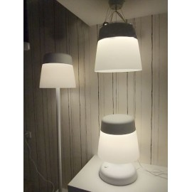 Everyday pendant lamp LEDS-C4 white color back view