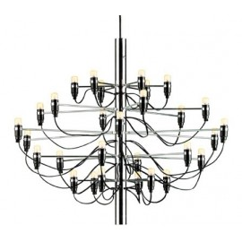 2097 chandelier pendant lamp Flos chrome color diam 65cm