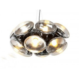 Bulb Chandelier Tom Dixon Model 12 bulbs front view