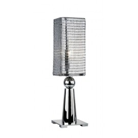 EXCALIBUR all media table lamp silver color S front view