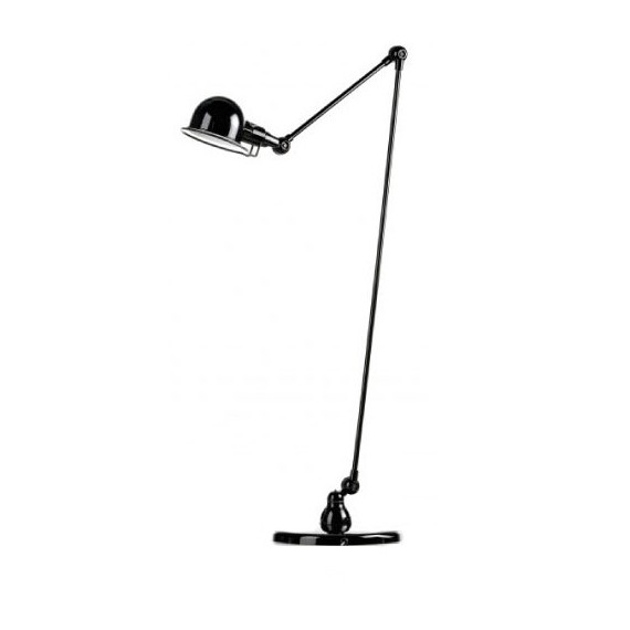 Lak Jielde floor lamp black color front view