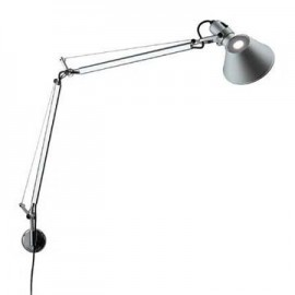 Tolomeo wall lamp Artemide silver color