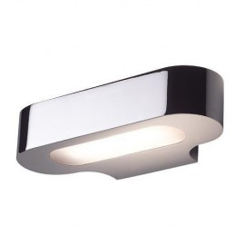 Talo Halo wall lamp Foscarini chrome color