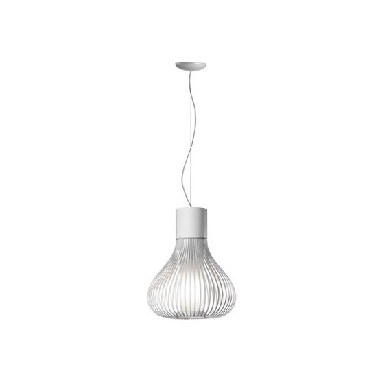 Chasen s2 pendant lamp Flos white color front view